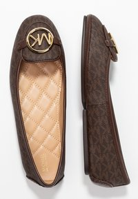 MICHAEL Michael Kors - LILLIE  - Baleriny - brown - 3