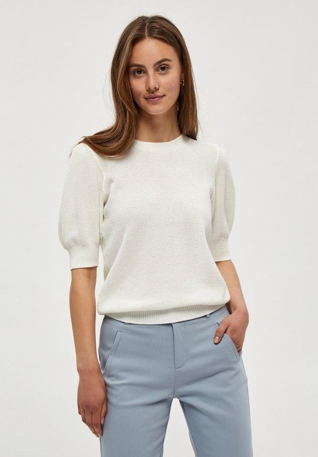 JOSSA  - T-shirt - bas - broken white