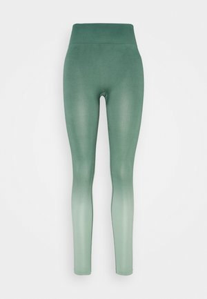 SEAMLESS OMBRE LEGGINGS - Medias - blue spruce