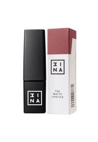 3ina - MATTE LIPSTICK - Lipstick - 401 dark nude - 1