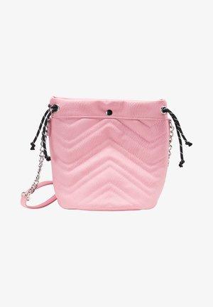Taška spříčným popruhem - pink
