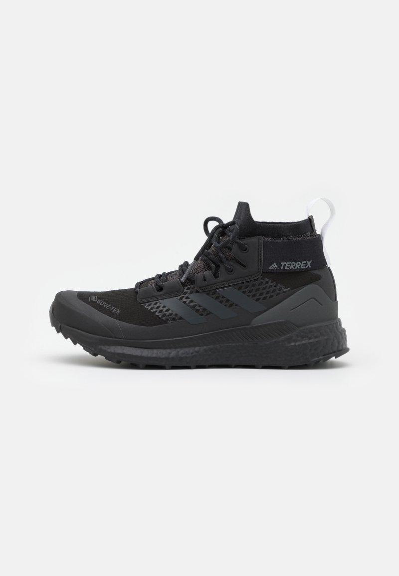 adidas Performance - TERREX FREE HIKER GORE-TEX - Fjellsko - core black/carbon/footwear white
