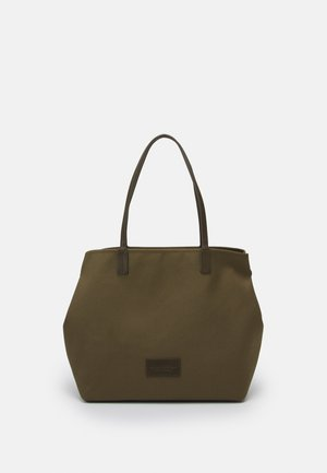 SAMIRA SET - Tote bag - olive green