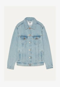 Bershka - JEANSJACKE IM REGULAR-FIT 01273503 - Kurtka jeansowa - blue - 4
