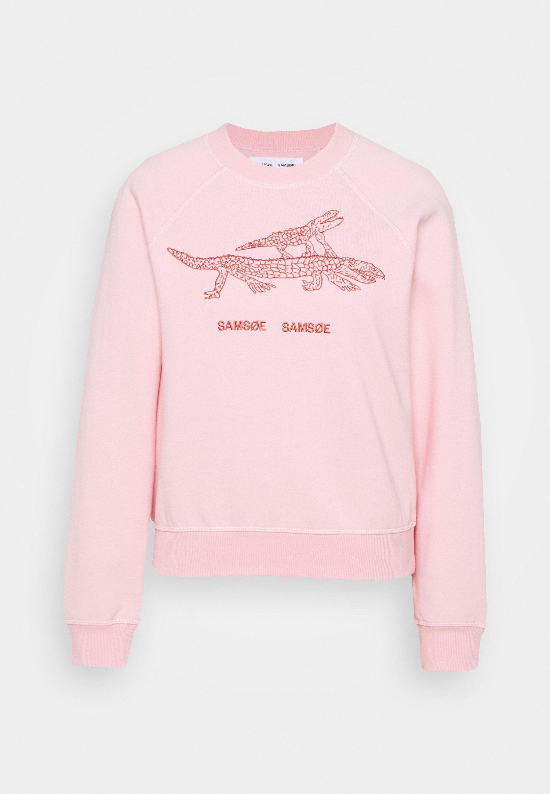 Women BARLETTA CREW NECK  - Sweatshirt - pink
