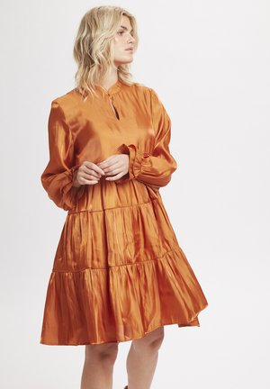 PANGKB  - Day dress - orange rust