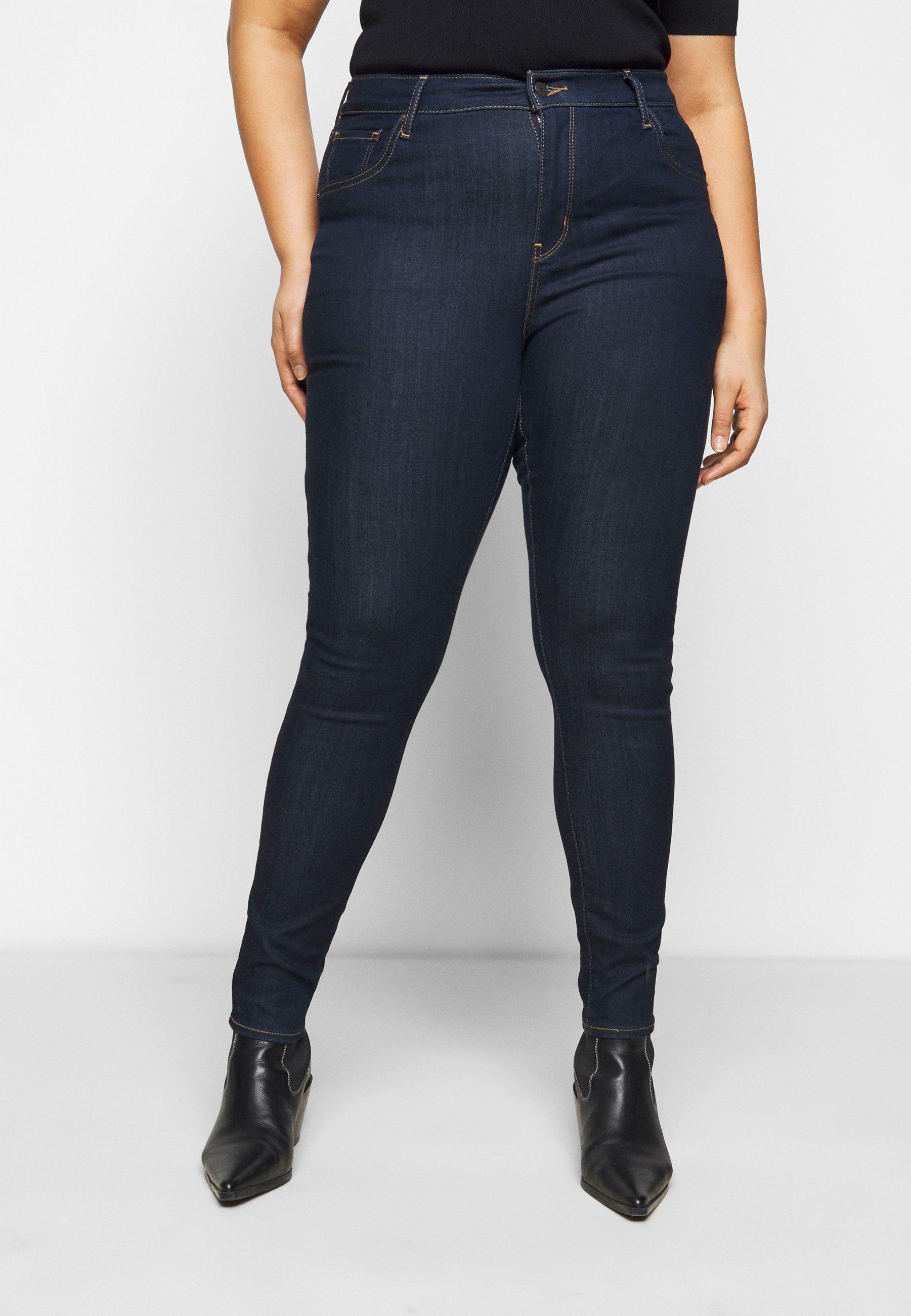 Damer 721 PL HI RISE SKINNY - Jeans Skinny Fit