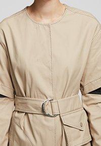 KARL LAGERFELD - Day dress - sandstone - 4