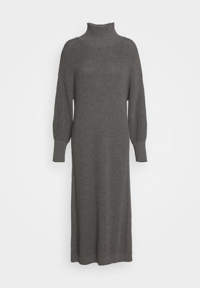 SCARLETT DRESS - Jumper dress - grey melange