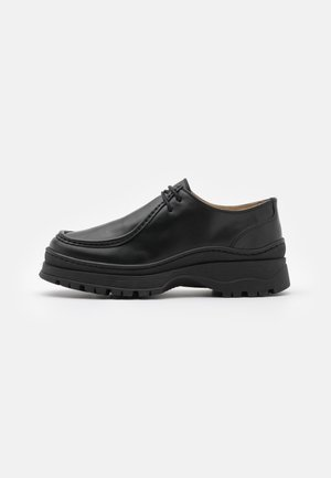 SHOES - Veterschoenen - black