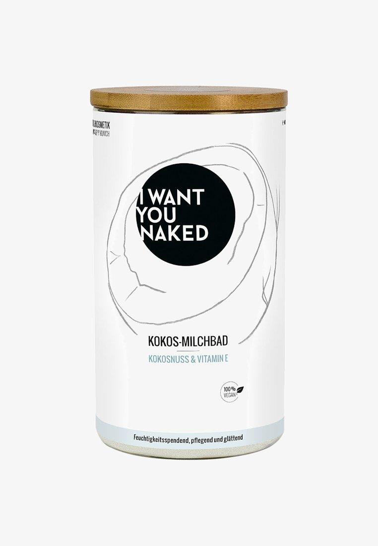 I WANT YOU NAKED - COCONUT MILK BATH - Badskum - kokosnuss & vitamin e