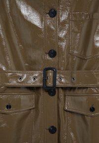 Mango - DORIS - Faux leather jacket - braun - 8