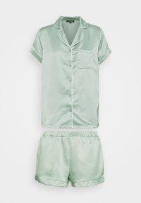 Loungeable - TRADITIONAL SHORT SLEEVE SHIRT  - Pyjama - green - 4