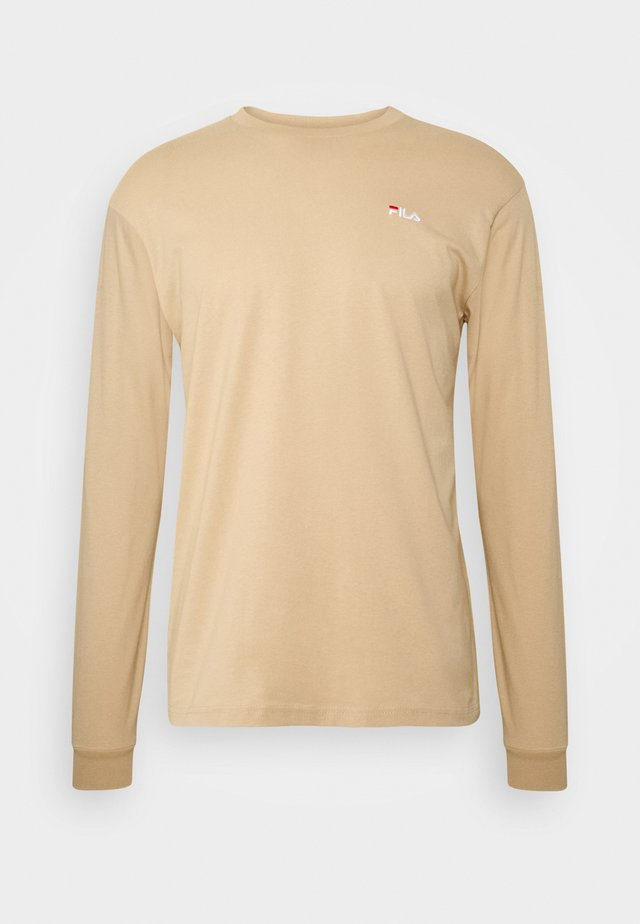 EITAN LONG SLEEVE - Top s dlouhým rukávem - irish cream