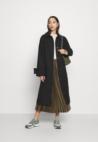 Monki - ARELIA COAT - Classic coat - black - 1