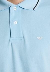 Emporio Armani - Polo shirt - baby blue - 6
