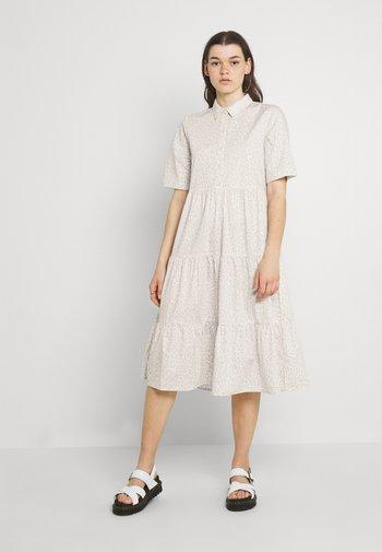 RONJA DRESS - Shirt dress - white light