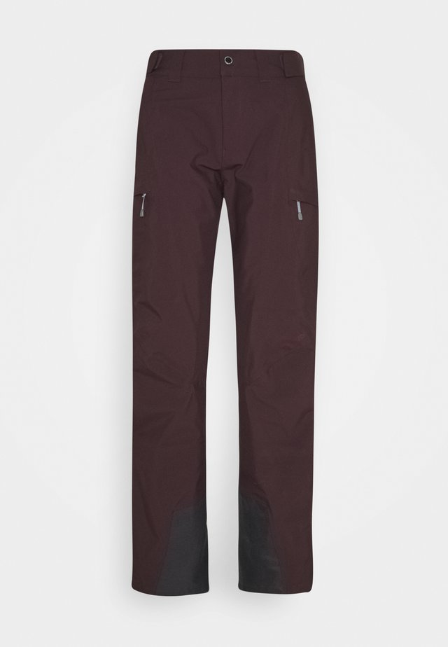 ANGULAR PANT RED ILLUSION - Snow pants - red illusion
