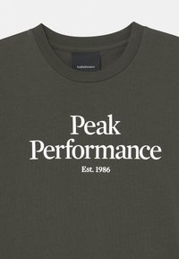 Peak Performance - ORIGINAL UNISEX - Triko s potiskem - black olive - 2