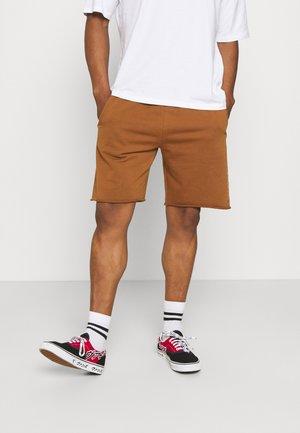 FELPA - Shorts - tobacco