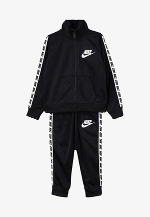 NIKE BLOCK TAPING TRICOT SET - Survêtement - black