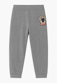 Mini Rodini - OCTOPUS PATCH - Trousers - grey melange - 0