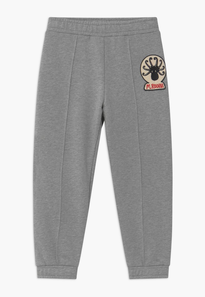 Mini Rodini - OCTOPUS PATCH - Trousers - grey melange