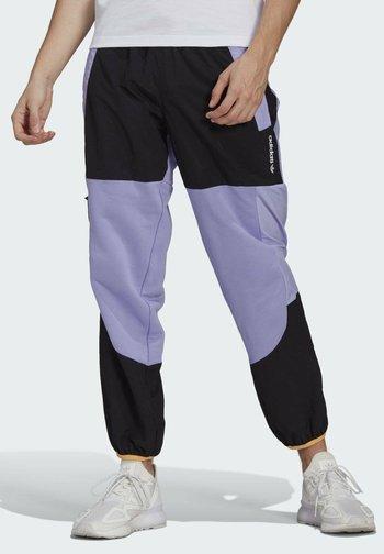 ADV BLK PNT ADVENTURE ORIGINALS REGULAR TRACK PANTS - Träningsbyxor - purple