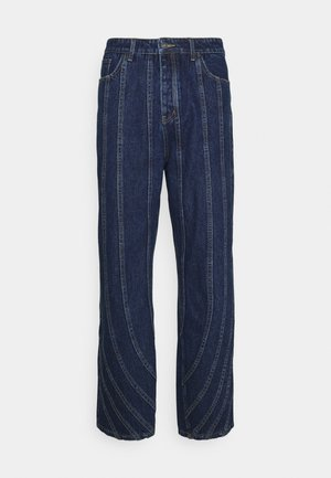 SEAM DETAIL - Jeans relaxed fit - indigo