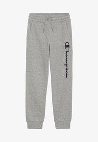 Champion - AMERICAN CLASSICS CUFF PANTS - Pantalones deportivos - mottled grey - 3