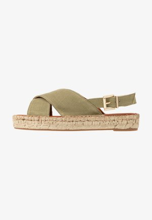 CROSSED  - Alpargatas - khaki
