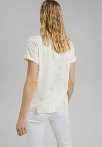 Esprit - Print T-shirt - off white - 2