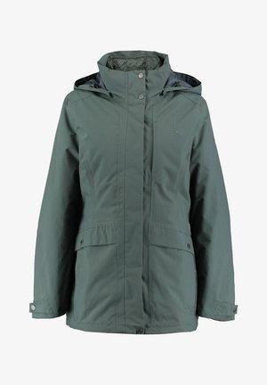 2 IN 1 - Outdoor jacket - dark green