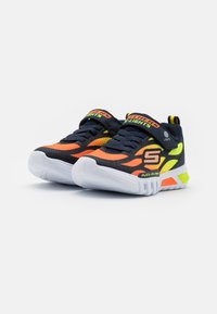 Skechers - FLEX GLOW - Trainers - navy/orange/yellow - 1