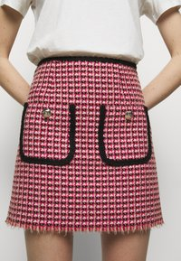 maje - JENALT - A-line skirt - fuchsia - 4