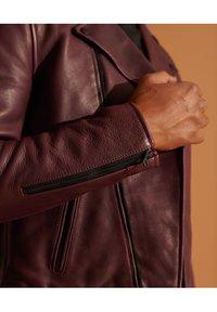 Superdry - Leather jacket - fig - 2