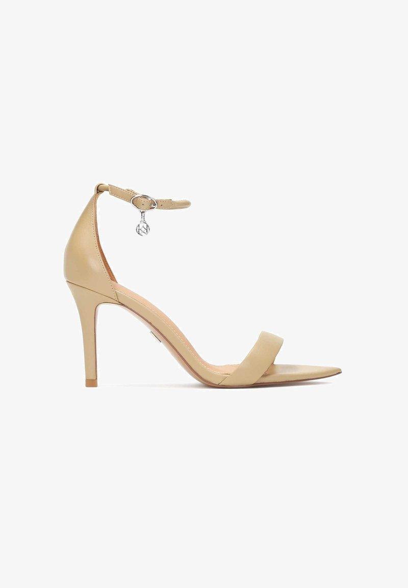 Kazar - Sandály na vysokém podpatku - light brown