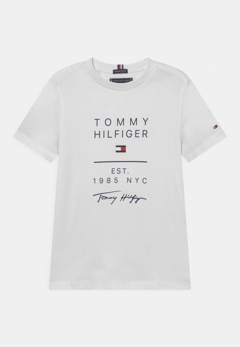 Tommy Hilfiger - GRAPHIC - Triko spotiskem - white