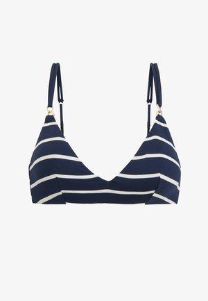 TRIANGEL-BIKINIOBERTEIL MIT MARITIMEN STREIFEN 30712381 - Bikini top - dark blue