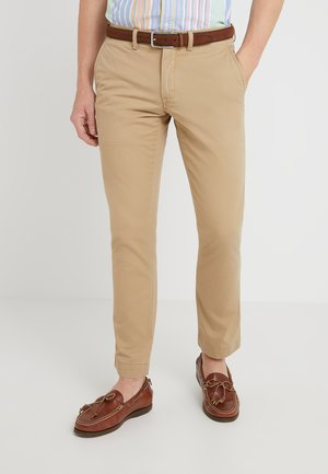 SLIM FIT BEDFORD PANT - Stoffhose - luxury tan