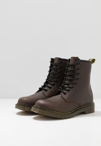 Dr. Martens - 1460 Serena Y Republic Wp - Lace-up ankle boots - dark brown - 3