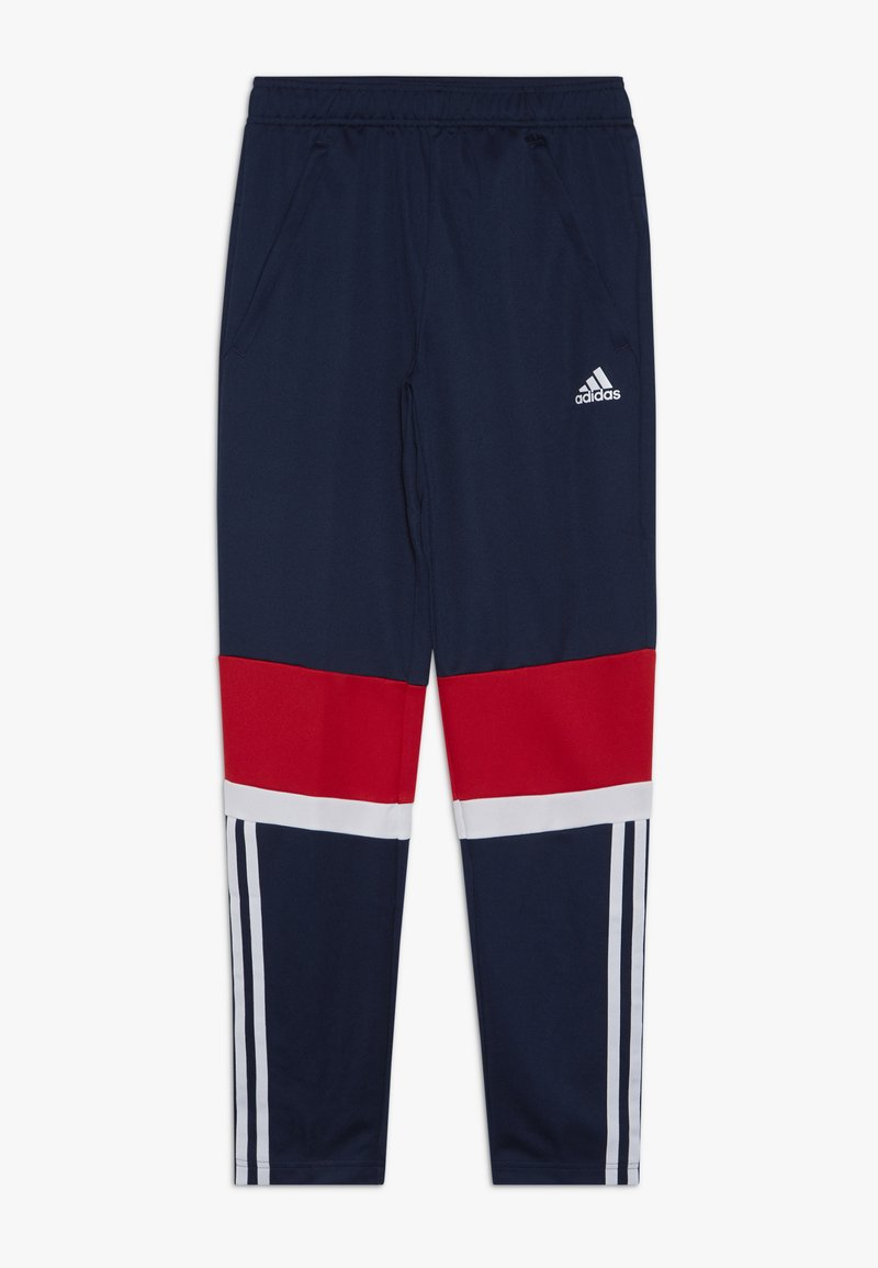 adidas Performance - Trainingsbroek - conavy/vivred/white