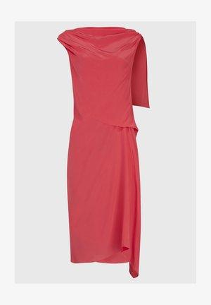 FOY SILK DRESS - Day dress - pink