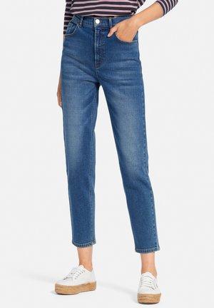 Straight leg jeans - middle blue denim