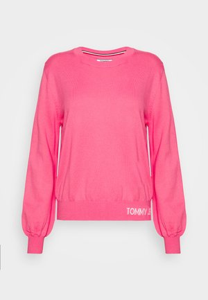 FINE CREW NECK SWEATER - Jumper - glamour pink