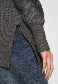ONLY - ONLKAY HOOD - Hoodie - medium grey melange - 5