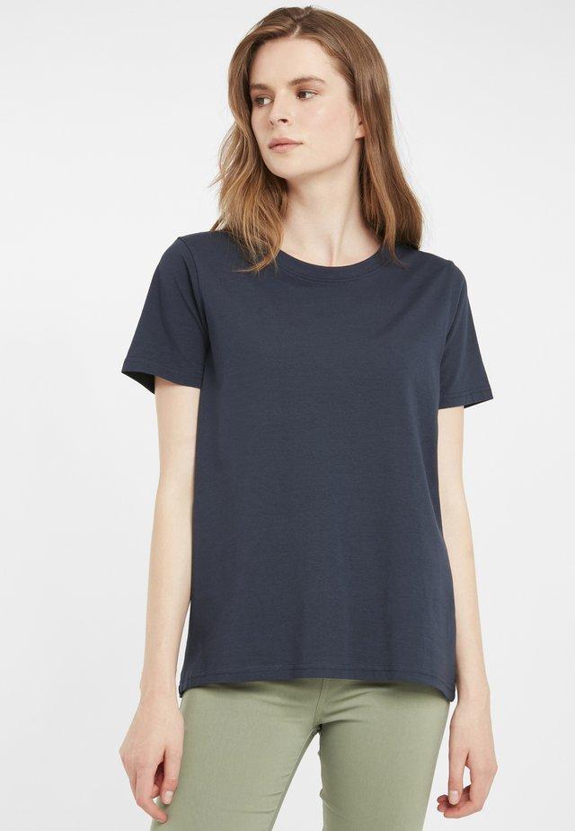 ZAGANIC - Basic T-shirt - dark peacoat