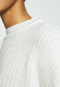 Even&Odd - OVERSIZED JUMPER - Stickad tröja - white - 5