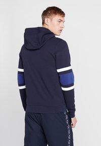 Lacoste Sport - Huvtröja med dragkedja - navy blue/ocean white/ocean - 2