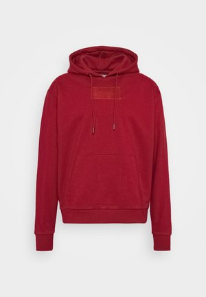 SMALL SIGNATURE BOX HOODIE UNISEX  - Sweatshirt - dark red